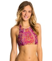 Billabong Gypsy Dreamin Reversible Crop Halter Bikini Top