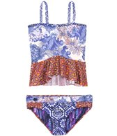 Maaji Girls' Slug Bug Ruffle Tankini Two Piece (2yrs-16yrs)