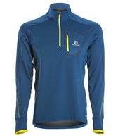 Salomon Men's Trail Runner Warm LS Zip Tee