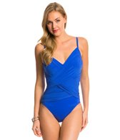 Magicsuit by Miraclesuit Solid Harper Underwire One Piece Swimsuit