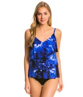 Magicsuit by Miraclesuit Hippie Chic Chloe Tiered Tankini Top