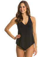 Magicsuit by Miraclesuit Solid Taylor Underwire Racerback Tankini Top