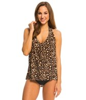 Magicsuit by Miraclesuit Cougar Sophie Halter Tankini Top
