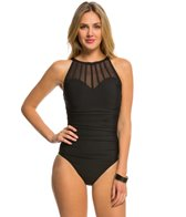 Magicsuit by Miraclesuit Mesh Anastasia Underwire High Neck One Piece Swimsuit