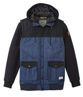 Matix Men's Big Game Quilt Fleece Hooded Jacket