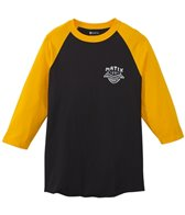 Matix Men's Badge Baseball Tee