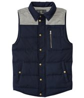 United By Blue Men's Drummond Colorblock Wool Vest