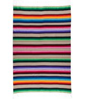 Native Large Mexican Serape Blanket