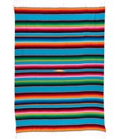 Native Large Mexican Serape Blanket