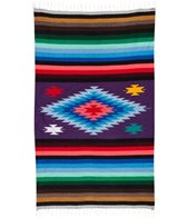 Native Super Diamond Mexican Yoga Blanket