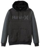 Hurley Men's Sherpa Full Zip Hoodie