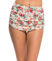 Bettie Page Romance Sarong Swim Skirt