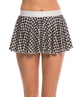 Bettie Page Picnic Skater Swim Skirt