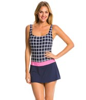 Beach House Pink Sun Valley Tank Skort Swim Dress
