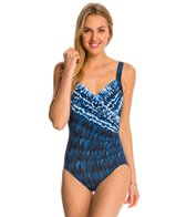 Miraclesuit Indigo-Go Sanibel Splice One Piece Swimsuit