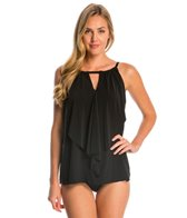 Miraclesuit Suit Yourself Ruffle Peephole Tankini Top