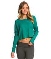 Under The Canopy Organic Leilani Long Sleeve Crop