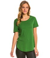 Under The Canopy Organic Jasmine Side Slit Yoga Shirt