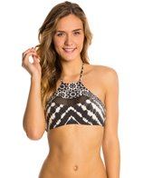 Rip Curl Swimwear Midnight Hour Hi Neck Bikini Top