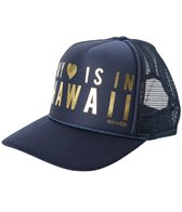 Rip Curl Hawaiian Heart Trucker Hat
