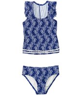 Hula Star Girls' Chatty Seahorse Tankini Two Piece Set (2yrs-6yrs)