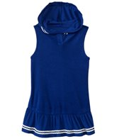 Hula Star Girls' Ocean Dot Cover Up Hoodie Dress (2yrs-6yrs)