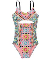Gossip Girls' Star Crossed Tank One Piece Swimsuit (7yrs-16yrs)