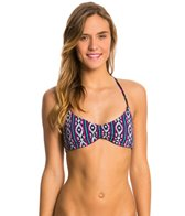 Roxy Swimwear Traveling Gypsy Halter Triangle Bikini Top