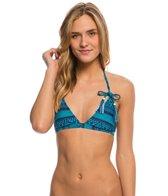 Roxy Swimwear Native Geo Fixed Triangle Bikini Top