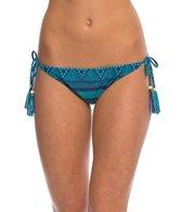 Roxy Swimwear Native Geo Tie Side Surfer Bikini Bottom