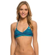 Roxy Swimwear Native Geo Athletic Triangle Bikini Top