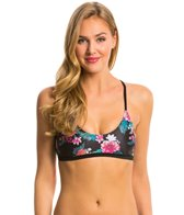 MINKPINK Beach Blossom Cross Back Bikini Top