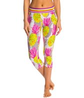 Trina Turk Pineapples Yoga Capris