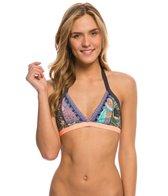 Maaji Floral Traces Halter Bikini Top