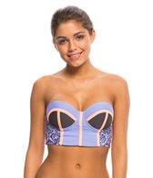 Maaji Lavender Timbers Bustier Bikini Top