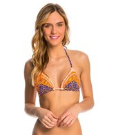 Maaji Scrapbook Stitches Triangle Bikini Top