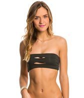 Boys + Arrows Pavement Abetting Ava Bandeau Bikini Top