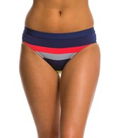 Jag Swimwear Newport Stripe Retro Bikini Bottom