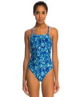 Speedo Optical Burst Flyback One Piece Swimsuit