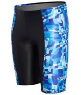 Speedo Youth Optical Burst Jammer Swimsuit