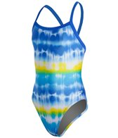 Speedo Youth Water Supply Flyback One Piece Swimsuit