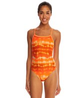 Speedo Water Supply Flyback One Piece Swimsuit