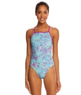 Speedo Tie Dye Printed One Back Swimsuit