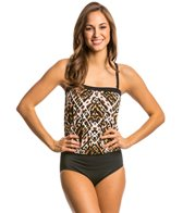 Jantzen Animale Blouson One Piece Swimsuit