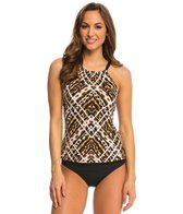 Jantzen Animale High Neck Tankini Top