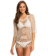 Jantzen Crochet Cover Up Tunic