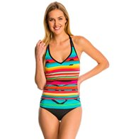 Jag Life in Flight Crisscross Back Tankini Top