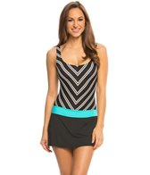 Beach House Cape Cod Tank Skort Swimdress