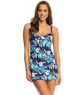 Beach House Nantucket Island Twist Front Swim Dress