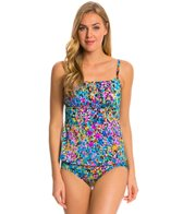 Longitude Star Quality Shirred Tankini Top